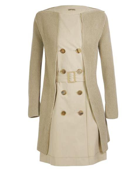Trench Coat Dress Black Beige 19063 bottega veneta belted trench coat dress in beige lyst