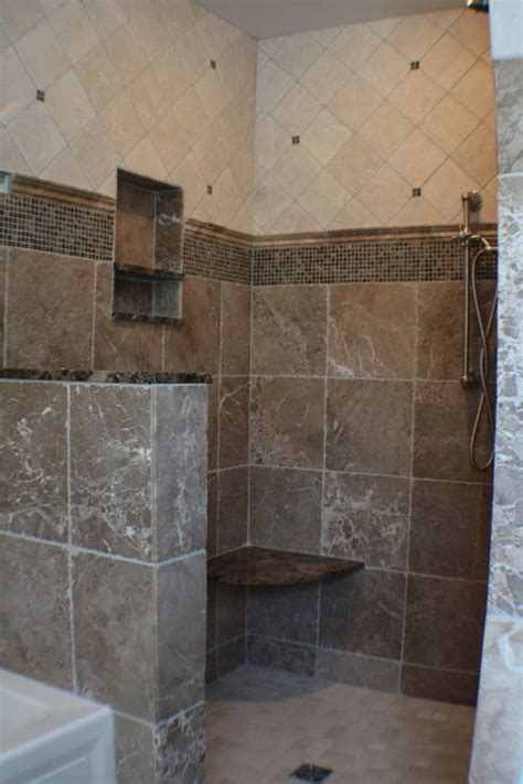 custom shower stalls with seat custom shower stall with bench seat soap and bottle cubby