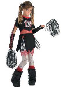 Zombie Cheerleader Costume Kids Gothic Cheerleader Costume