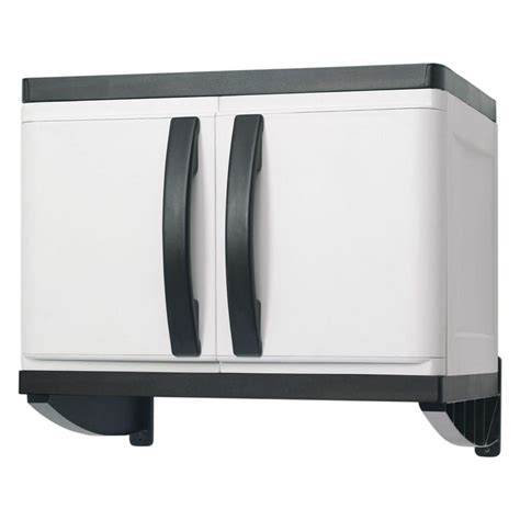 Hdx 26 In Plastic Wall Cabinet 194985 The Home Depot