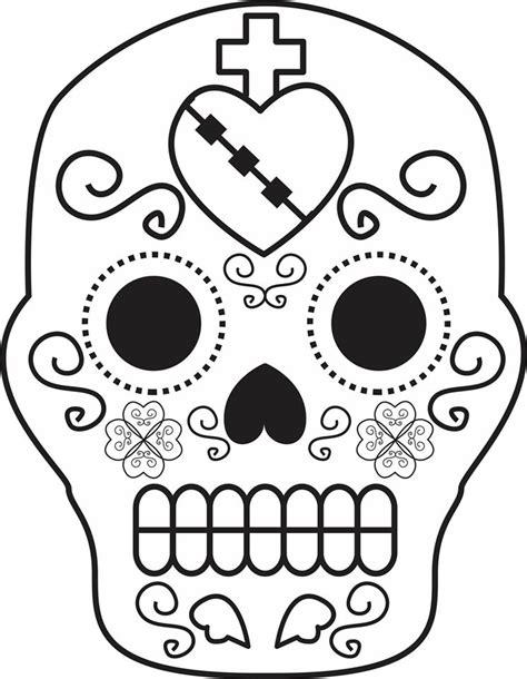 da de muertos dibujos dibujos para colorear el d 237 a de los muertos 55