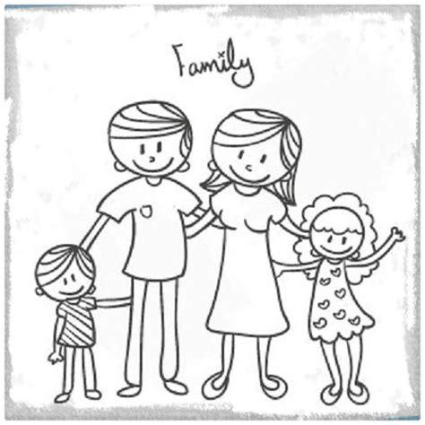 Imagenes De La Familia Para Imprimir | dibujos de familia para colorear e imprimir imagenes de