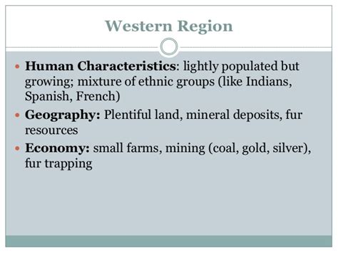 characteristics of sectionalism sectionalism