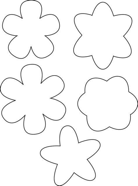 simple flower template