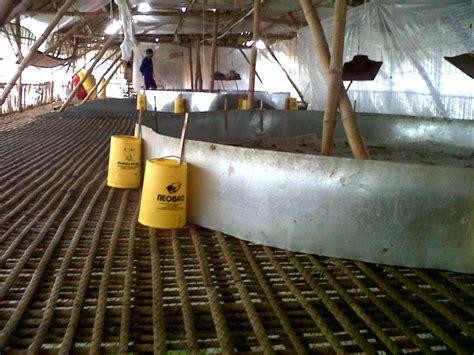 Tirai Kandang Broiler beternak ayam tanpa sekam adalah innovasi di dunia