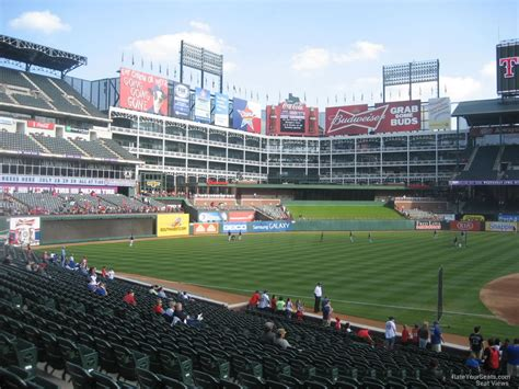 Rangers Sections globe park section 18 rateyourseats