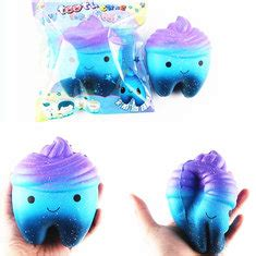 Squishy Jumbo Galaxy Tooth Cake Licenses By Sanqi Elan squishy toys wholesale squishy soft toys at squishy shop