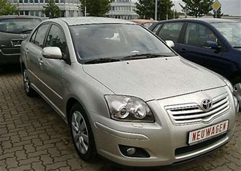 2006 Toyota Avensis Review Toyota Avensis T25 Hatchback 2006 2008 Reviews