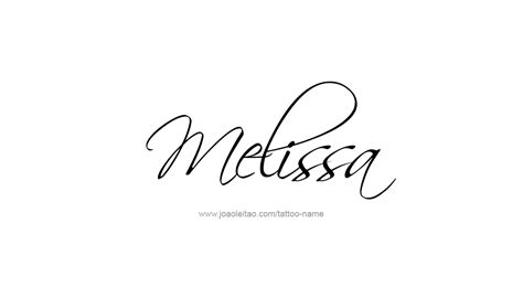melissa tattoo name pictures to pin on pinsdaddy
