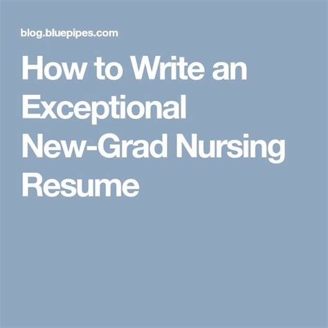 How To Write A Nursing Resume New Grad by Best 25 New Grad Ideas On Student