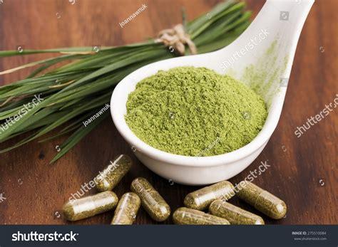Barley Detox by Barley Grass Detox Superfood Stock Photo 275510084