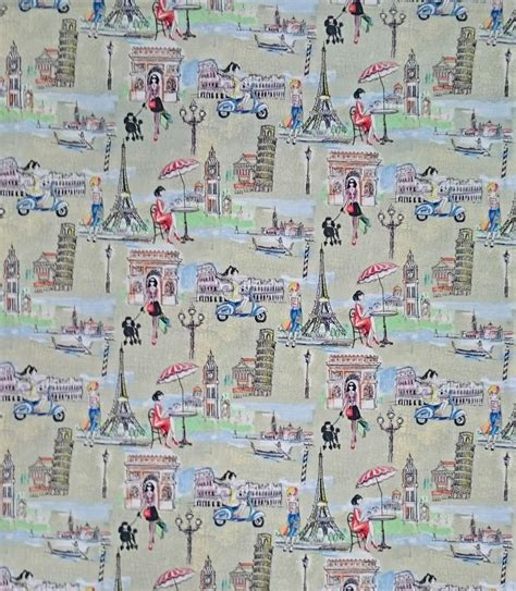 Patchwork Quilt Chords by Patchwork Quilting Fabric Rome Travel New