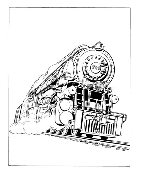 Steam Coloring Pages free engine coloring pages
