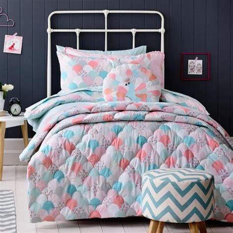girls coverlets adairs kids girls peacock bedroom quilt covers