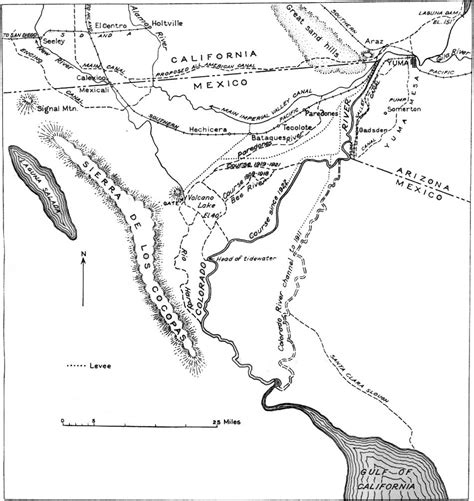 colorado river delta map usgs geological survey bulletin 845 itinerary