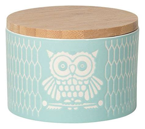 owl kitchen canisters owl motif ceramic canisters by now designs owl products