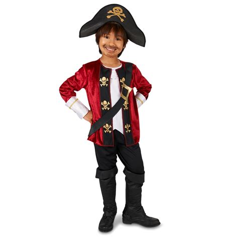 buy captain buy the captain pirate child costume