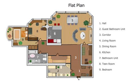 sle phone tree template conceptdraw sles building plans floor plans plan