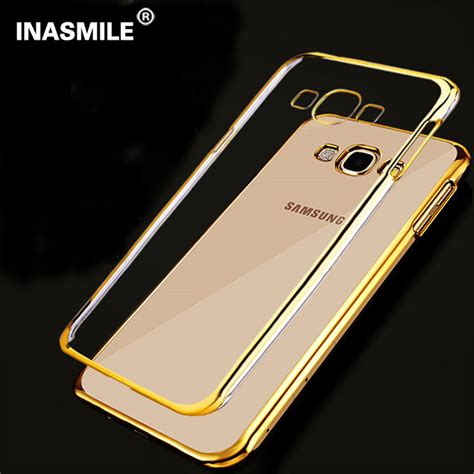 Ultra Thin Stealth Samsung Galaxy J2 Silicon Soft Jelly ultra thin transparent clear rubber electroplating