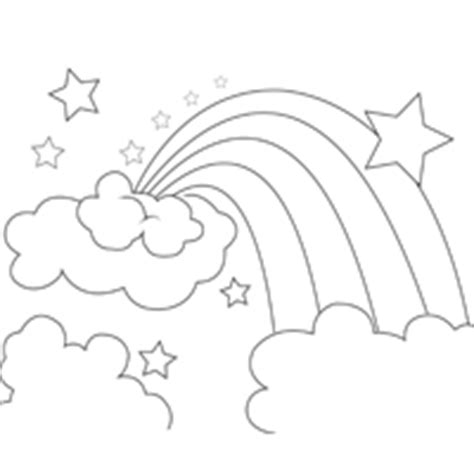 rainbow star coloring page star 187 coloring pages 187 surfnetkids