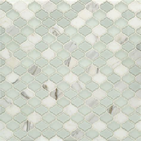 artistic tile artistic tile etoile thassos glass water jet