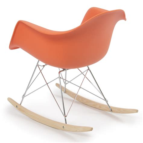 Armchair Rocking Chair by Retro Dsw Eames Style Modern Arm Chair Rar Rocker Rocking
