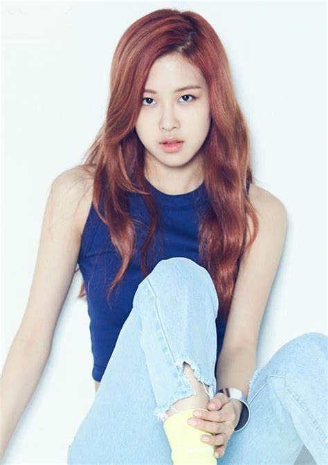 blackpink rose this singer could be blackpink rose s identical twin
