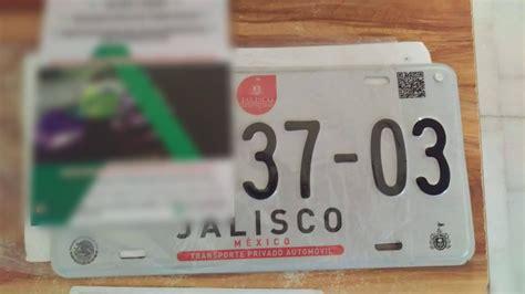 tarjeta de circulacin jalisco 2016 cambian placas de circulaci 243 n en jalisco tr 225 fico zmg