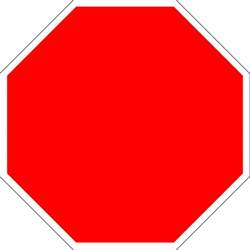 blank stop signs clipart best
