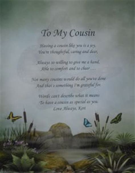 quotes  poems  cousins quotesgram
