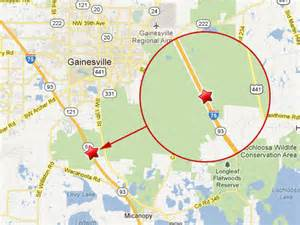 i 75 mile marker map florida semi truck on i 75 in gainesville fl causes