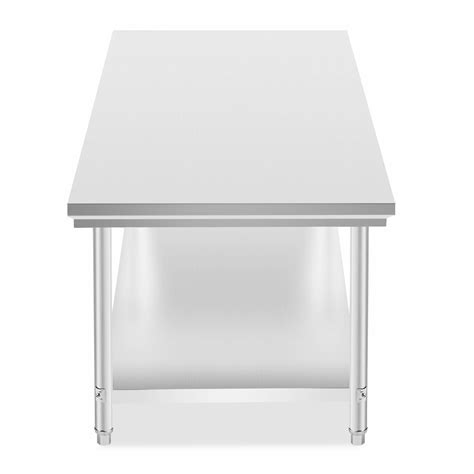 Kitchen Work Table Stainless 1500x750 Mm Ss 201 new 201 stainless steel kitchen work bench food prep table top 762x1829mm ebay