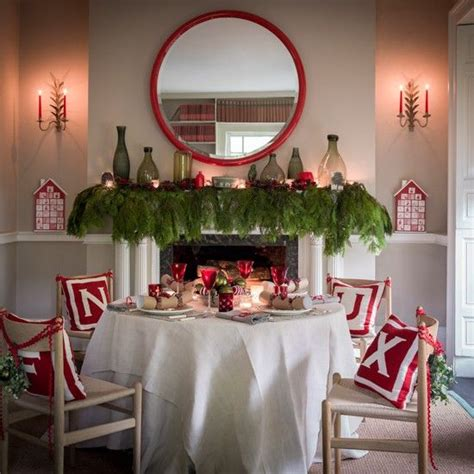 christmas dining room decorations a joyful cottage living large in small spaces 30 rooms