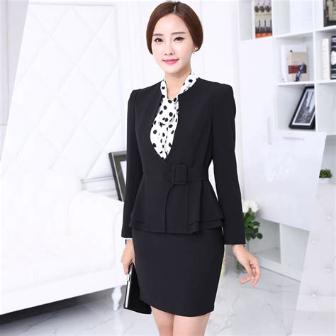 women working suits designs aliexpress com buy 2 piece set women elegant skirt suits
