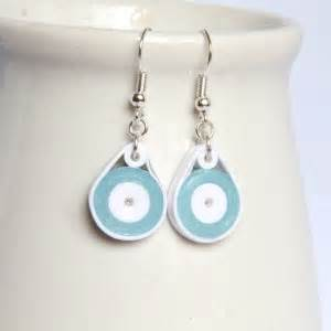 How To Make Paper Earrings Water Resistant - how to make your paper quilling water resistant with