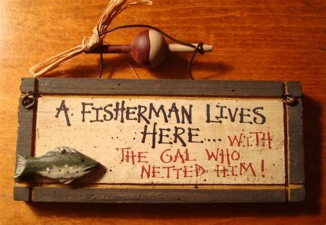 fishing home decor fisherman lives here rustic fishing lodge log cabin home