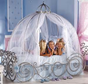 Princess Carriage Canopy Bed Fairytale Canopy Beds For Your Princess