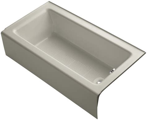 kohler bellwether bathtub kohler k 876 0 white bellwether collection 60 quot three wall