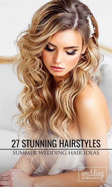 Hairstyles For Hair On Wedding Day by Hairstyles For Wedding Day Hair