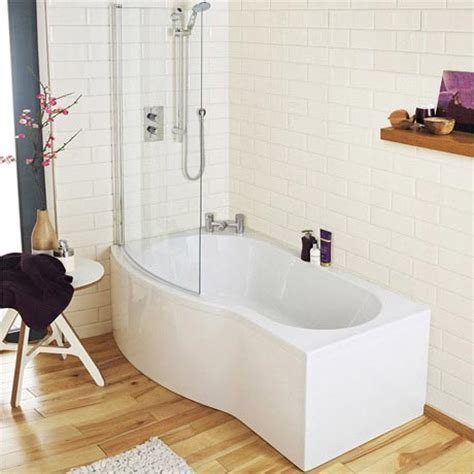 curved shower bath premier curved shower bath 1500mm with screen acrylic panel