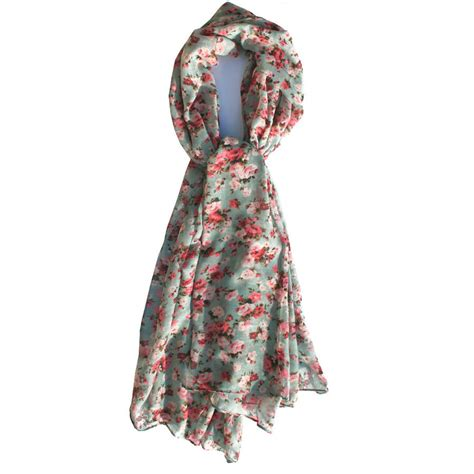 ditsy floral print scarf by hayley co