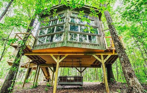 Treehouse Vacation Rentals Usa - 9 treehouses you can actually rent for an off the ground getaway brazil treehouse inhabitat