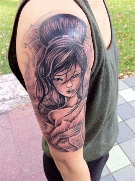 tattoo de geisha para hombres geishas simbolismo origen y 60 ideas para tatuarse