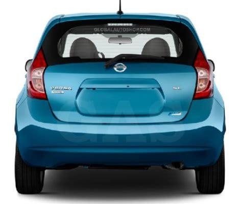 Trunk Lid Accessories Chrome Datsun Go Series nissan versa note rear chrome trunk lid trim rear chrome trim