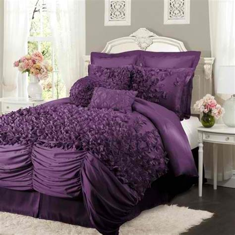 Purple Bedding by Luxury Bedding At Home