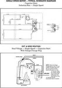 magnetek motor capacitor magnetek wiring diagram and circuit schematic