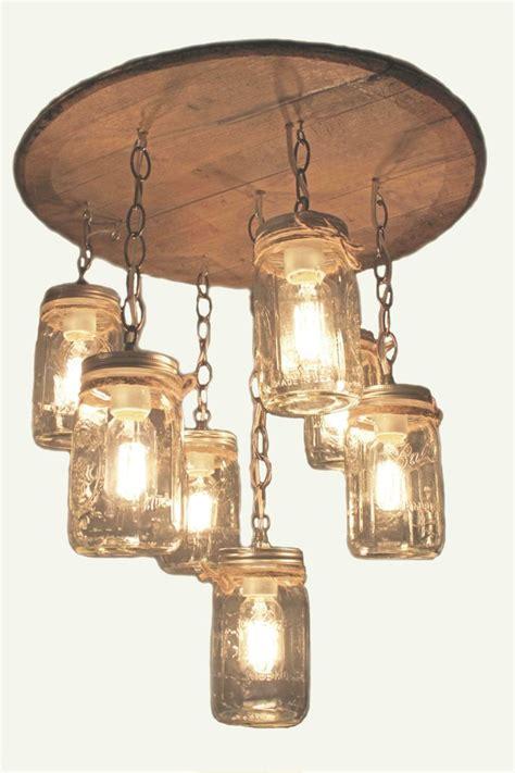 mason jar light fixture for sale whisky barrel chandelier whiskey barrel pinterest