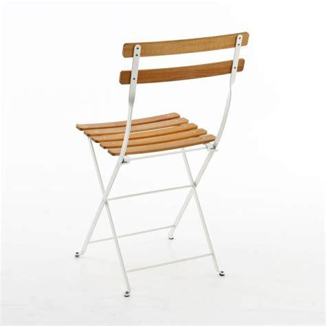 Fermob Bistro Chair by Bistro Naturel Folding Chair Fermob Ambientedirect