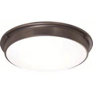Home Depot Kitchen Ceiling Lights Osram Sylvania 3 Light Flush Mount Ceiling Bronze Led Indoor Light Fixture 75252 0 At The