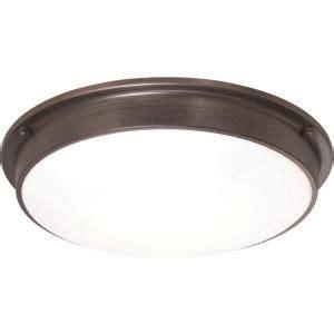 osram sylvania 3 light flush mount ceiling bronze led